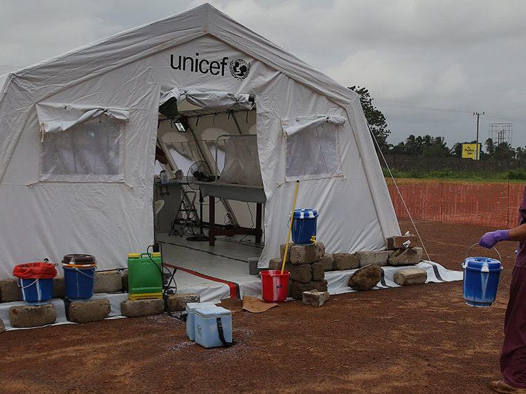 Ebola tent