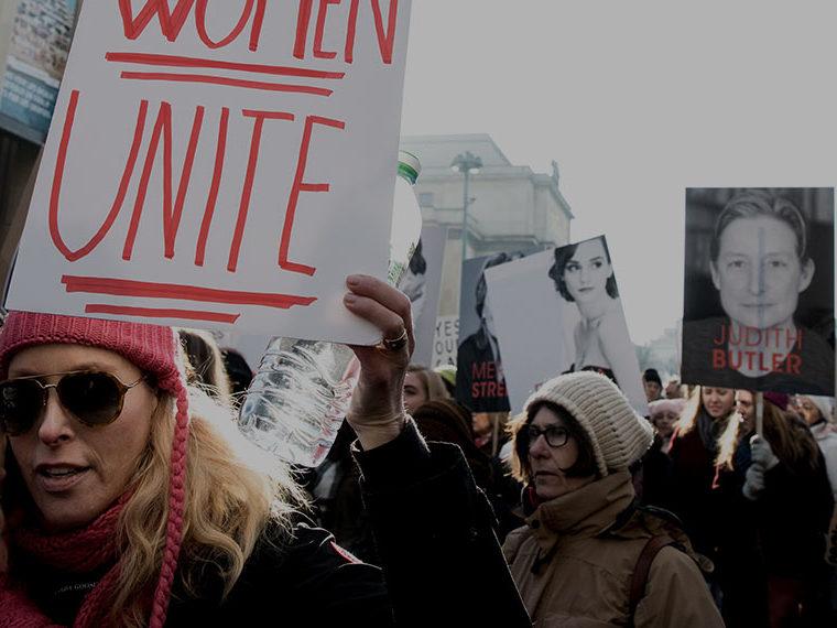 Women Unite protest