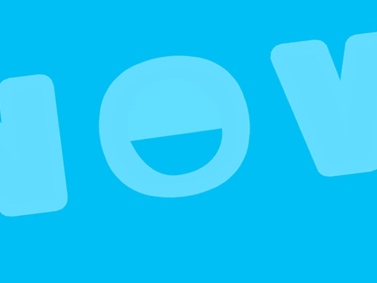 Illustration of the word NOW