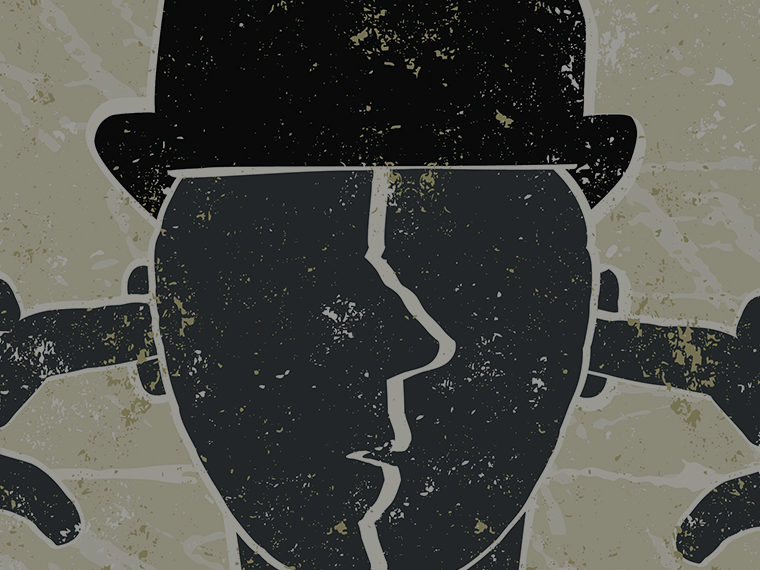 Illustration of a character wearing a hat covering their ears