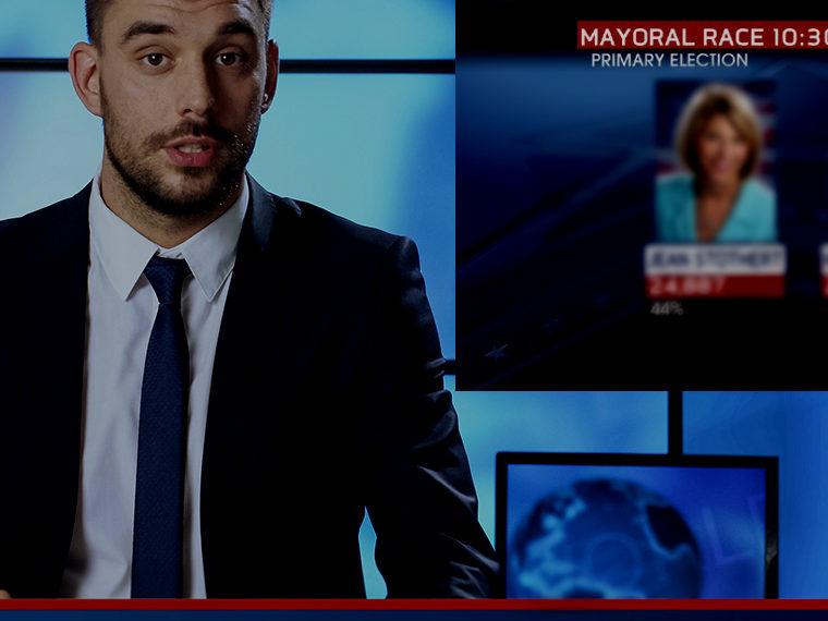 TV News anchor