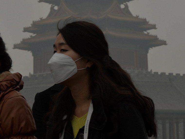A city full of smog