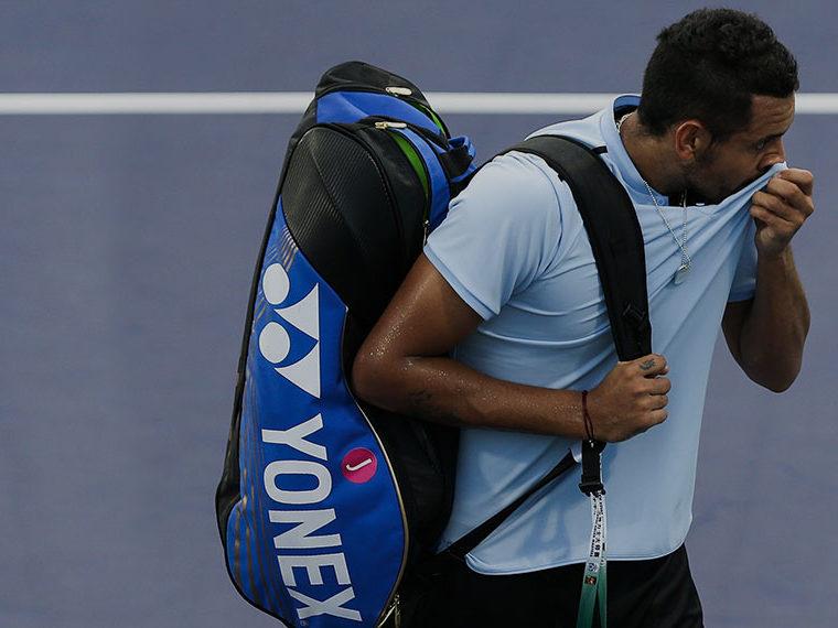 Tennis player Nick Kyrgios