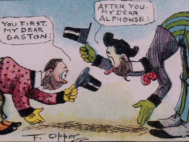 Illustration of a comic