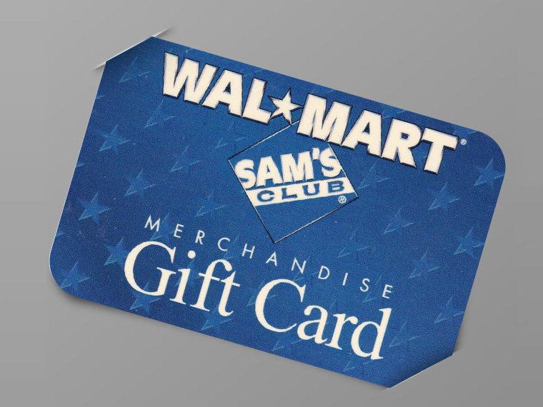 Wal-Mart giftcard